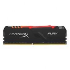 Kingston HyperX Fury RGB 16GB Black Heatsink (1x16GB) DDR4 3200MHz DIMM System Memory