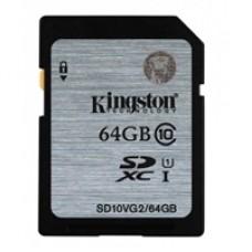 Kingston 64GB Full SDXC Class 10 Flash Card