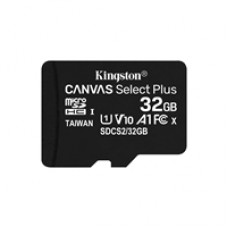 Kingston Canvas Select Plus 32GB Micro SD UHS-I Flash Card No Adapter