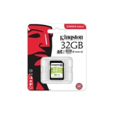 Kingston Canvas Select 32GB SD Class 10 UHS-I Flash Card