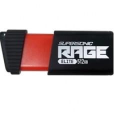 Patriot 512GB Supersonic Rage Elite (USB 3.1 Gen 1)