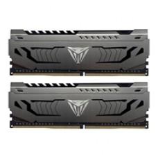 Patriot Viper Steel Series DDR4 16GB (2 x 8GB) 3866MHz Kit w/Gunmetal Grey heatshield