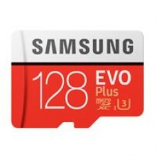 Samsung EVO Plus 128GB Micro SDHC Class 10 Flash Card with Adapter