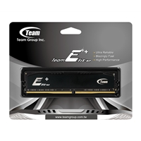 Team Elite 8GB Plus Black Heatsink (1 x 8GB) DDR4 2133MHz DIMM System Memory
