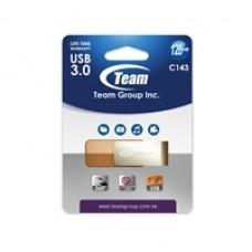 Team C143 128GB USB 3.0 Silver/Bronze USB Flash Drive