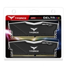 Team DELTA RGB 32GB Black Heatsink with RGB LEDs (2 x 16GB) DDR4 2666MHz DIMM System Memory
