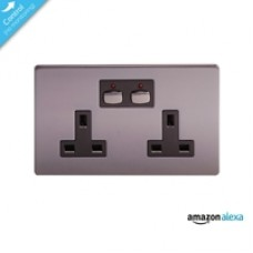 Energenie Mi Home Smart Double Nickel Socket