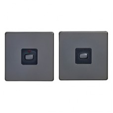 MiHome Smart Black Nickel 1 Gang Light Switch (Two-way)
