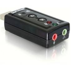 Dynamode USB Sound Card 7 External Sound Card