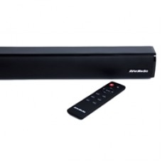 AVerMedia GS331 Sonicblast Gaming 40W 2.0 Channel Low Profile Soundbar