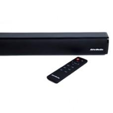 AVerMedia GS331 Sonicblast Gaming 40W 2.0 Channel Low Profile Soundbar