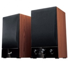 Genius SP-HF1250B II Wooden Hi-Fi Stereo Speakers