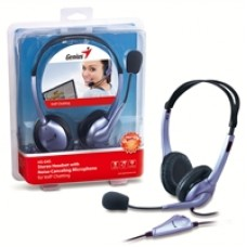 Genius HS04S Headset With Noise-Cancelling Microphone