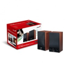 Genius SP-HF1250B 2-Way 40W Hi-Fi Wood Speakers