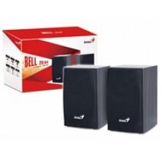 Genius SP-HF160 4 Watt USB 2.0 Wooden Speakers Black