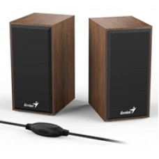 Genius SP-HF180 Wooden Stereo Speakers