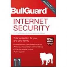 Bullguard Internet Security 2020 1Year/3 Device 10 Pack Multi Device Retail Licence English