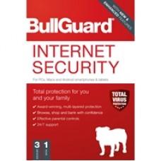 Bullguard Internet Security 2020 1Year/3 Device Multi Device Single Retail Licence English