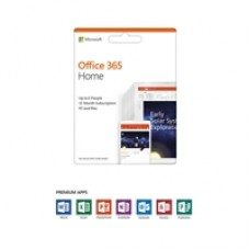 Microsoft Office 365 Home 2019 1 Year 6 User Medialess Subscription